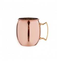 Mug Moscow Mule 45 CL finition cuivre lisse