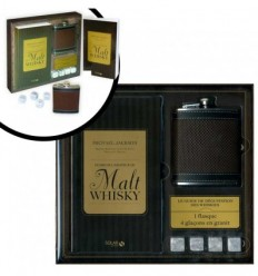 Coffret Whisky avec le guide de l'amateur de malt Whisky
